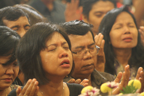Worship Leading not driving
