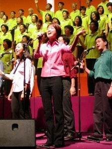 praise and worship leader